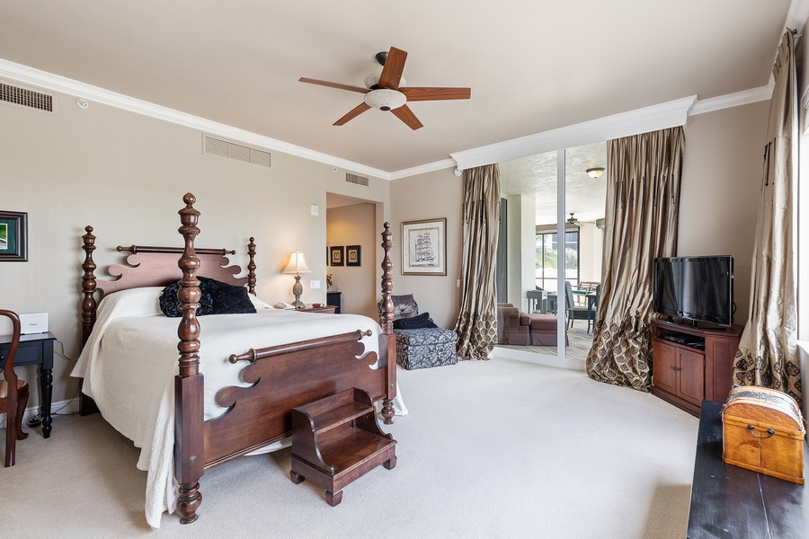 Real Estate Photography - 24011 Via Castella Dr., #2101, Bonita Springs, FL, 34134 - Master Bedroom