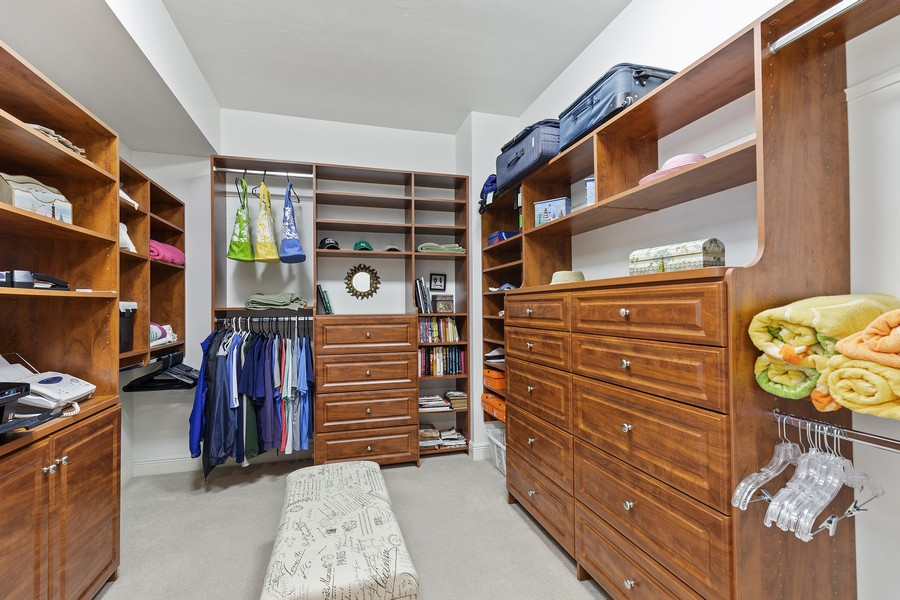 Real Estate Photography - 24011 Via Castella Dr., #2101, Bonita Springs, FL, 34134 - Closet