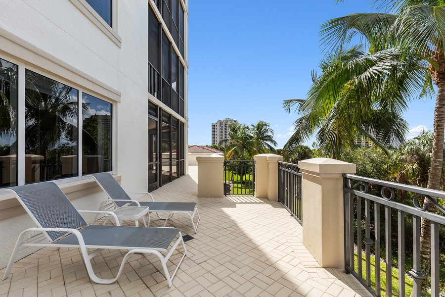 Real Estate Photography - 24011 Via Castella Dr., #2101, Bonita Springs, FL, 34134 - Balcony