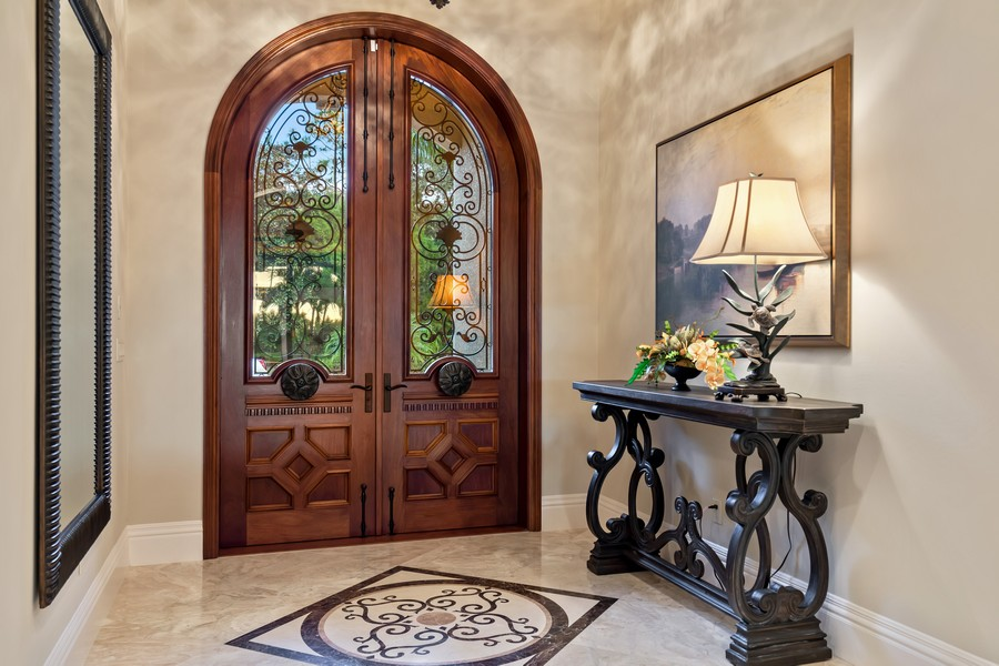 Real Estate Photography - 16659 PISTOIA WAY, Naples, FL, 34110 - Foyer
