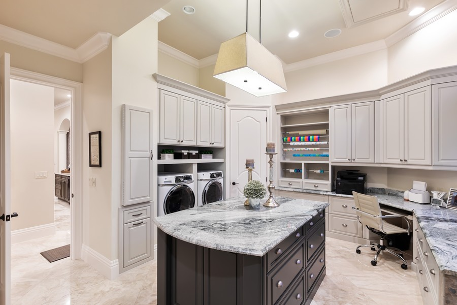 Real Estate Photography - 16659 PISTOIA WAY, Naples, FL, 34110 - Laundry Room