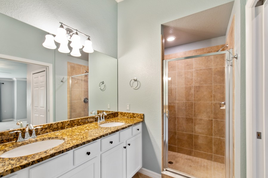 Real Estate Photography - 17980 Bonita National Blvd #1922, Bonita Springs, FL, 34135 - Master Bathroom