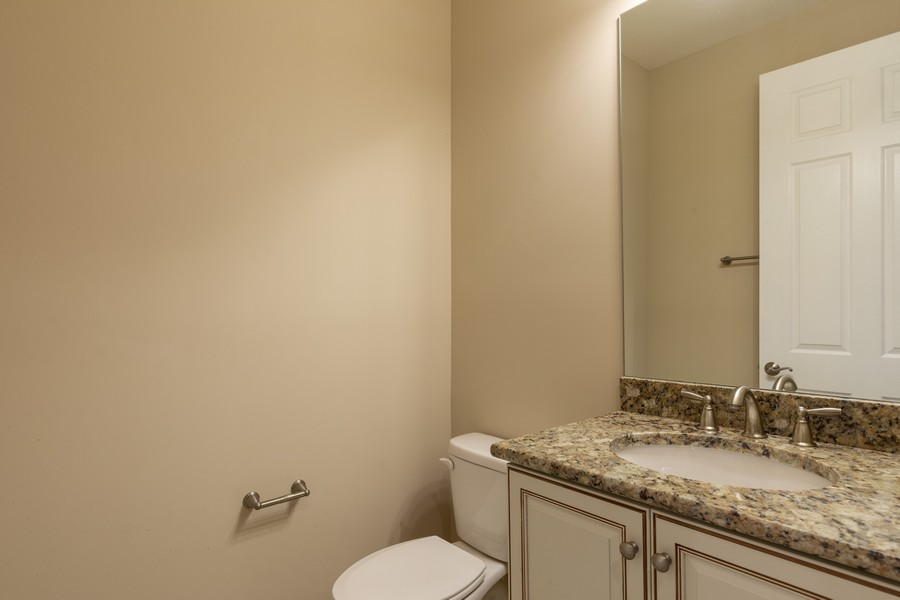 Real Estate Photography - 4600 Colony Villa, Unit 1301, Bonita Springs, FL, 34135 - Powder Room