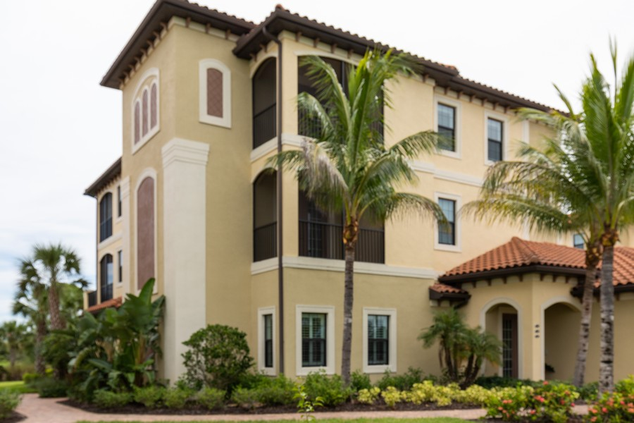 Real Estate Photography - 4600 Colony Villa, Unit 1301, Bonita Springs, FL, 34135 - Front View