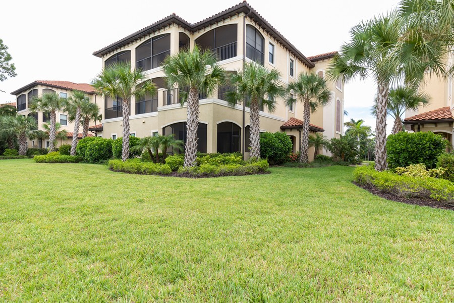 Real Estate Photography - 4600 Colony Villa, Unit 1301, Bonita Springs, FL, 34135 - Rear View