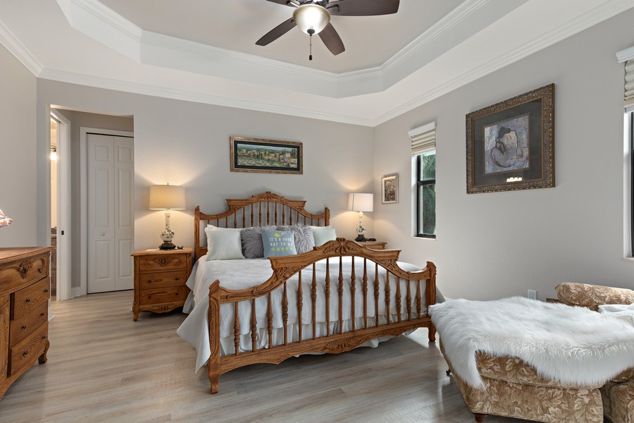 Real Estate Photography - 28596 Westmeath Ct, Bonita Springs, FL, 34135 - Master Bedroom