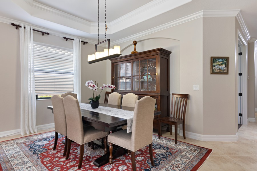 Real Estate Photography - 28596 Westmeath Ct, Bonita Springs, FL, 34135 - Dining Room