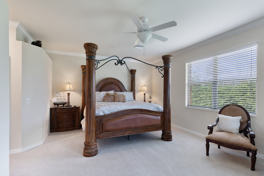 Real Estate Photography - 28005 Cookstown Ct, Unit 3403, Bonita Springs, FL, 34135 - Master Bedroom