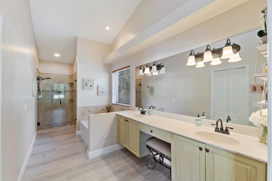 Real Estate Photography - 6061 Waxmyrtle Way, Naples, FL, 34109 - Master Bathroom