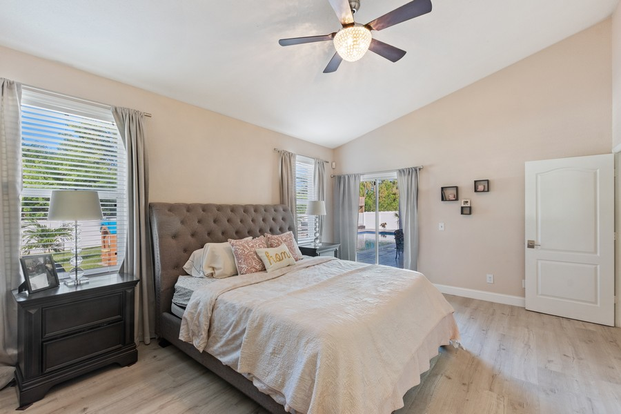 Real Estate Photography - 6061 Waxmyrtle Way, Naples, FL, 34109 - Master Bedroom