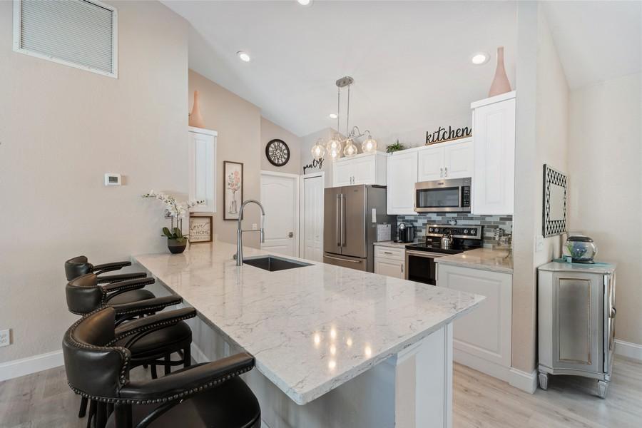 Real Estate Photography - 6061 Waxmyrtle Way, Naples, FL, 34109 - Kitchen