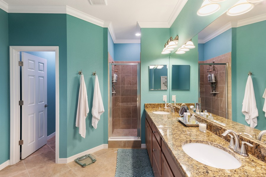 Real Estate Photography - 28091 cookstown ct #4303, Bonita Springs, FL, 34135 - Master Bathroom