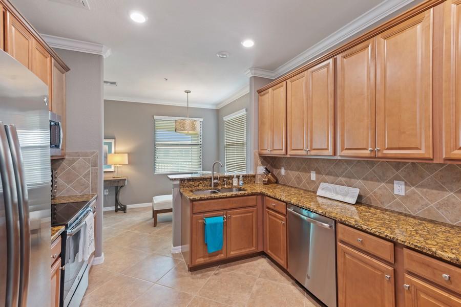 Real Estate Photography - 28091 cookstown ct #4303, Bonita Springs, FL, 34135 - Kitchen