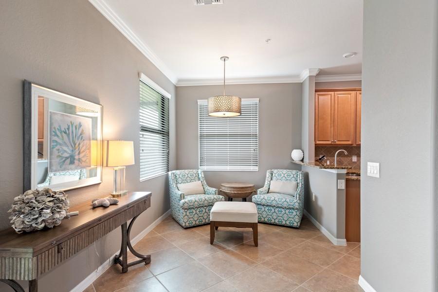 Real Estate Photography - 28091 cookstown ct #4303, Bonita Springs, FL, 34135 - Sitting Room