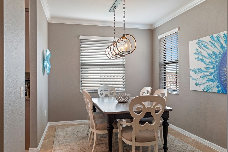 Real Estate Photography - 28091 cookstown ct #4303, Bonita Springs, FL, 34135 - Dining Room
