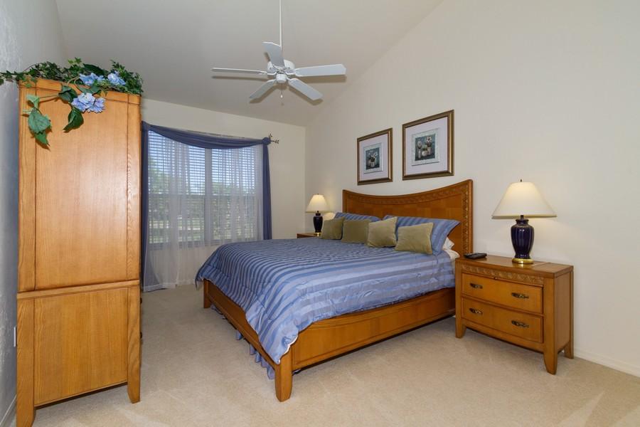 Real Estate Photography - 8447 Radcliffe Ter, Unit 203, Naples, FL, 34120 - Master Bedroom