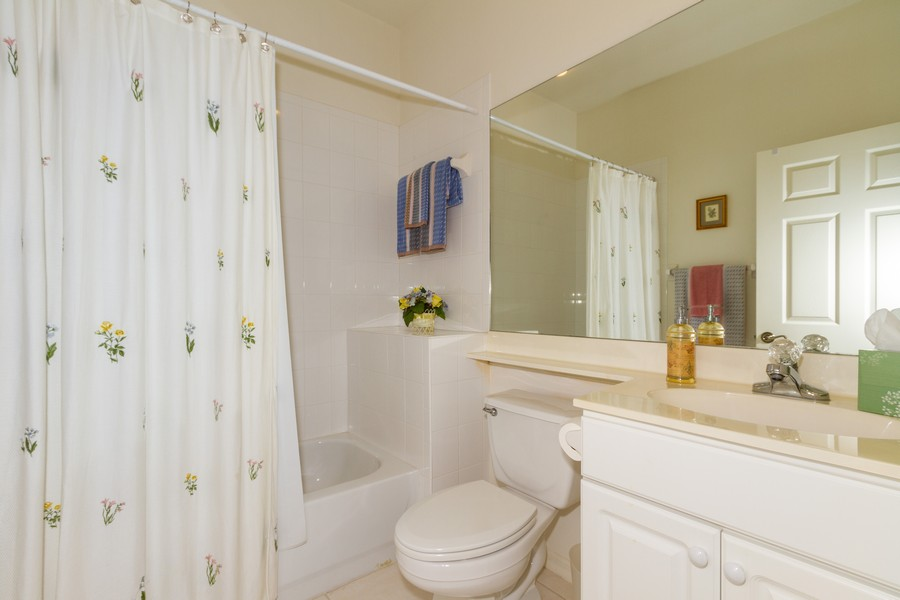 Real Estate Photography - 8447 Radcliffe Ter, Unit 203, Naples, FL, 34120 - Bathroom