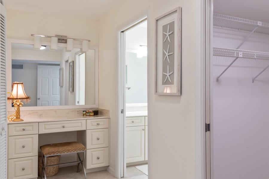 Real Estate Photography - 100 Wyndemere Way 301, Naples, FL, 34105 - Master Bathroom