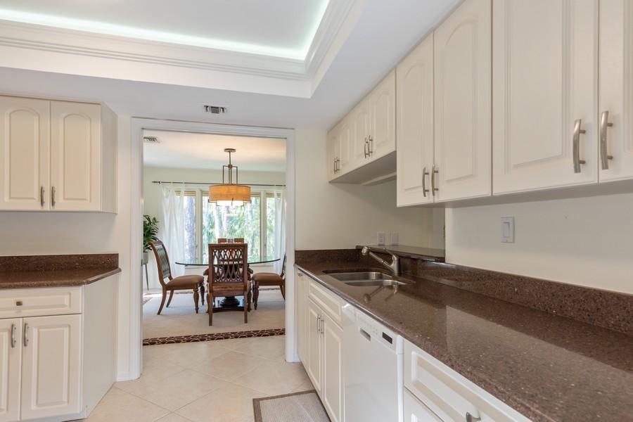 Real Estate Photography - 100 Wyndemere Way 301, Naples, FL, 34105 - Kitchen