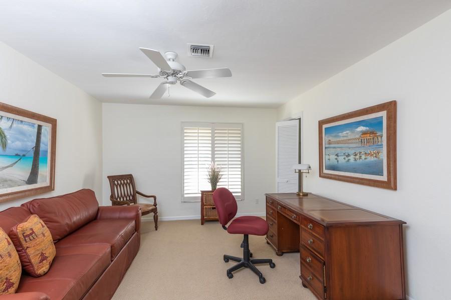 Real Estate Photography - 100 Wyndemere Way 301, Naples, FL, 34105 - Den