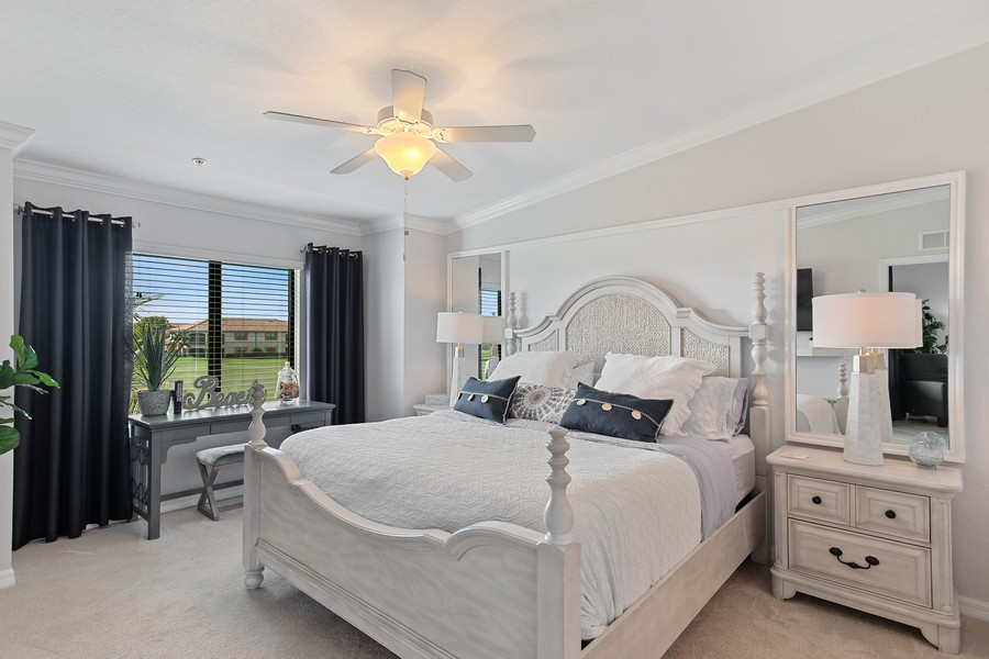 Real Estate Photography - 28022 BRIDGETOWN CT #4825, BONITA SPRINGS, FL, 34135 - Master Bedroom