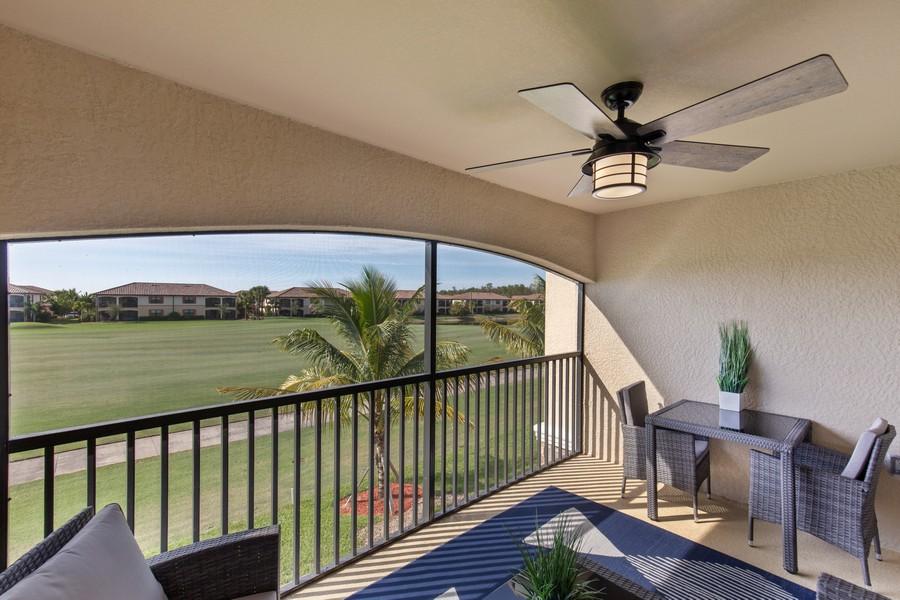 Real Estate Photography - 28022 BRIDGETOWN CT #4825, BONITA SPRINGS, FL, 34135 - Lanai
