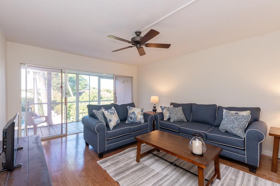 Real Estate Photography - 2064 Alamanda Drive, Naples, FL, 34102 - Living Room