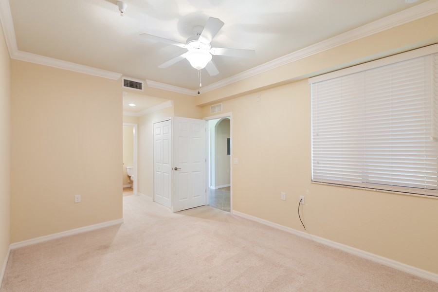 Real Estate Photography - 17941 BONITA NATIONAL BLVD. 323, BONITA SPRINGS, FL, 34135 - Master Bedroom