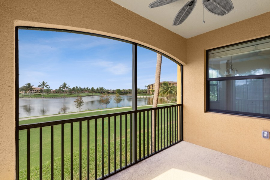 Real Estate Photography - 17941 BONITA NATIONAL BLVD. 323, BONITA SPRINGS, FL, 34135 - Lanai