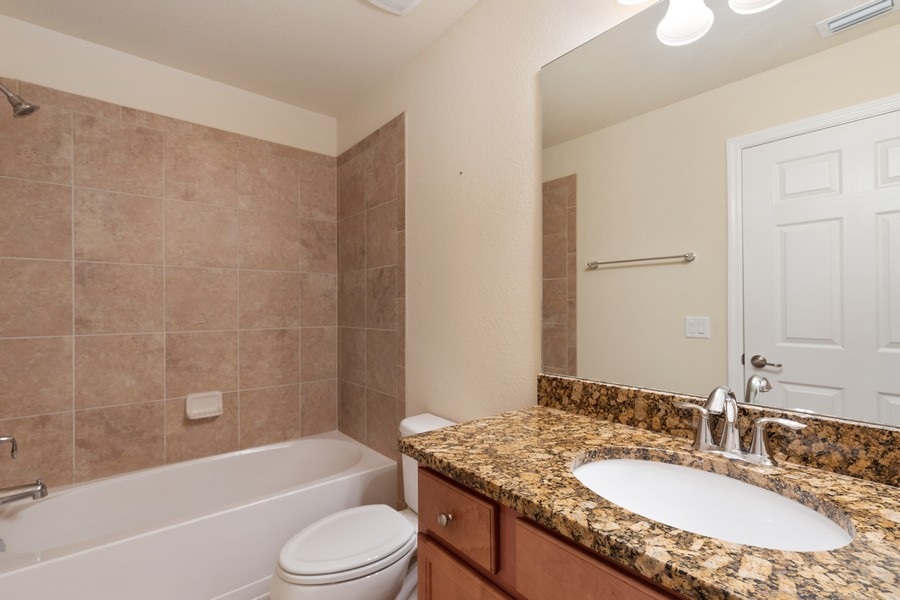 Real Estate Photography - 17941 BONITA NATIONAL BLVD. 323, BONITA SPRINGS, FL, 34135 - 2nd Bathroom
