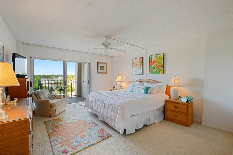 Real Estate Photography - 2150 Gulf Shore Blvd N, 601, Naples, FL, 34102 - Master Bedroom