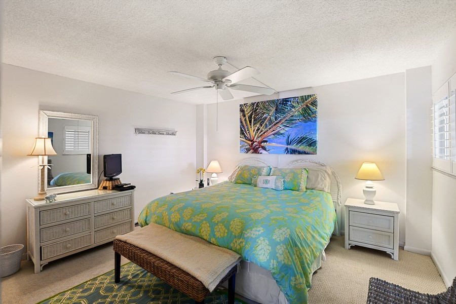 Real Estate Photography - 2150 Gulf Shore Blvd N, 601, Naples, FL, 34102 - Bedroom