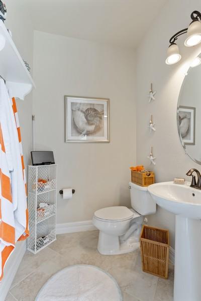 Real Estate Photography - 28522 Westmeath Ct, Bonita Springs, FL, 34135 - 3rd Bathroom