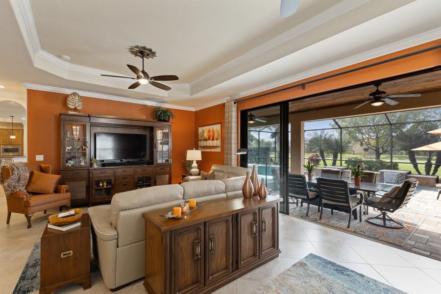 Real Estate Photography - 28522 Westmeath Ct, Bonita Springs, FL, 34135 - Living Room