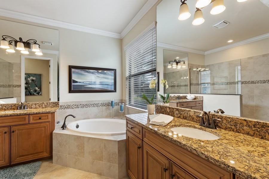 Real Estate Photography - 28522 Westmeath Ct, Bonita Springs, FL, 34135 - Master Bathroom