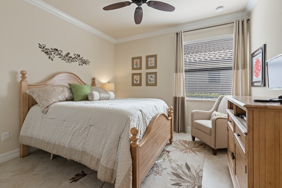 Real Estate Photography - 28522 Westmeath Ct, Bonita Springs, FL, 34135 - 2nd Bedroom