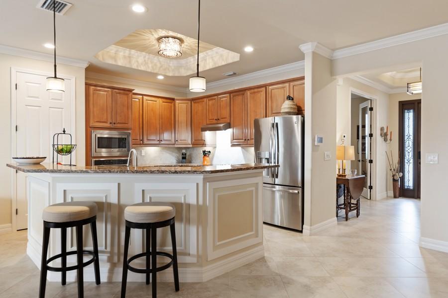 Real Estate Photography - 28522 Westmeath Ct, Bonita Springs, FL, 34135 - Kitchen