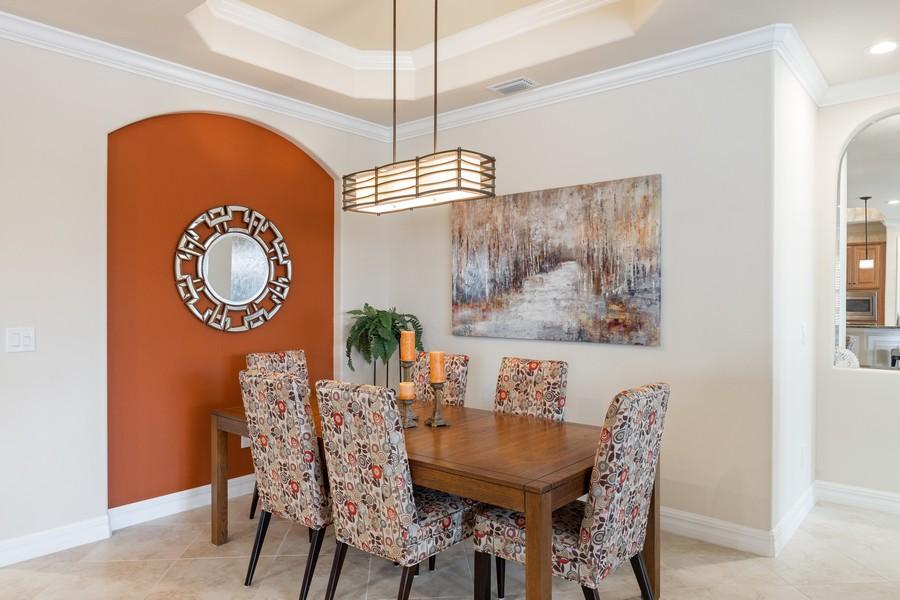 Real Estate Photography - 28522 Westmeath Ct, Bonita Springs, FL, 34135 - Dining Room