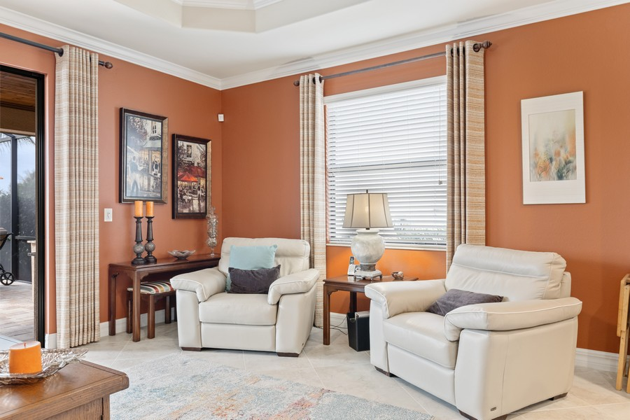Real Estate Photography - 28522 Westmeath Ct, Bonita Springs, FL, 34135 - Den