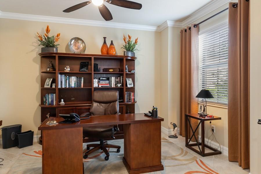 Real Estate Photography - 28522 Westmeath Ct, Bonita Springs, FL, 34135 - Office