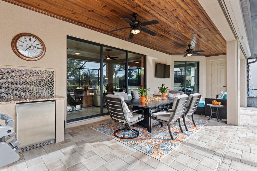 Real Estate Photography - 28522 Westmeath Ct, Bonita Springs, FL, 34135 - Lanai