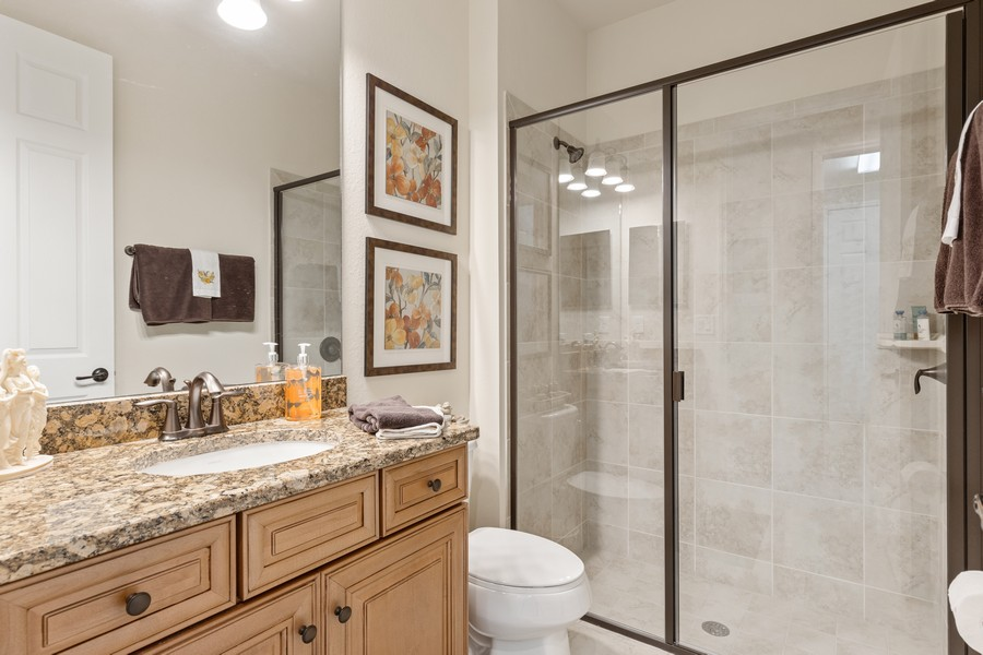 Real Estate Photography - 28522 Westmeath Ct, Bonita Springs, FL, 34135 - 2nd Bathroom