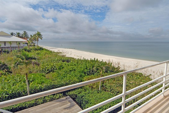 Real Estate Photography - 3860 Gordon Dr, Naples, FL, 34102 - Balcony