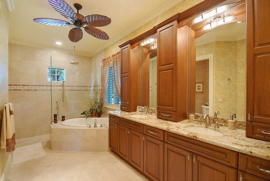 Real Estate Photography - 605 Bougainvillea Rd, Naples, FL, 34102 - Master Bathroom