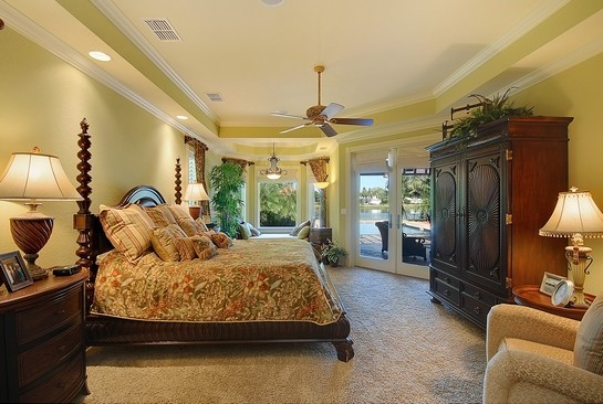 Real Estate Photography - 605 Bougainvillea Rd, Naples, FL, 34102 - Master Bedroom