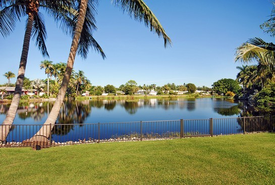Real Estate Photography - 605 Bougainvillea Rd, Naples, FL, 34102 - View