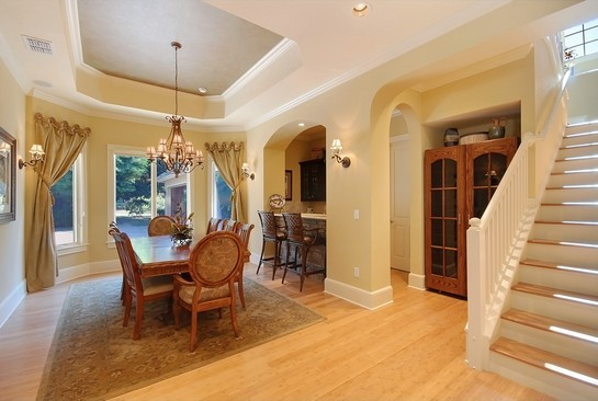 Real Estate Photography - 605 Bougainvillea Rd, Naples, FL, 34102 - Dining Room
