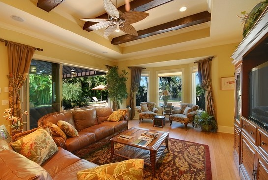 Real Estate Photography - 605 Bougainvillea Rd, Naples, FL, 34102 - Great Room