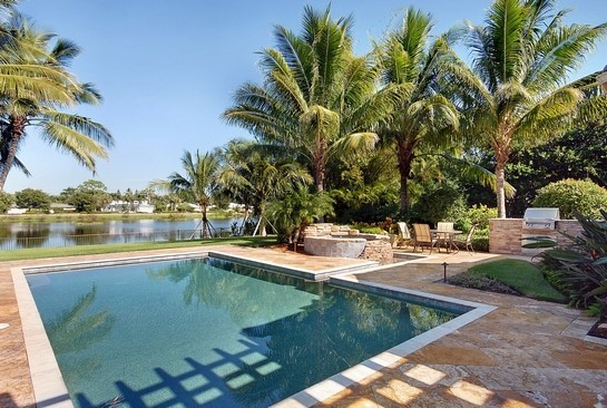 Real Estate Photography - 605 Bougainvillea Rd, Naples, FL, 34102 - Pool