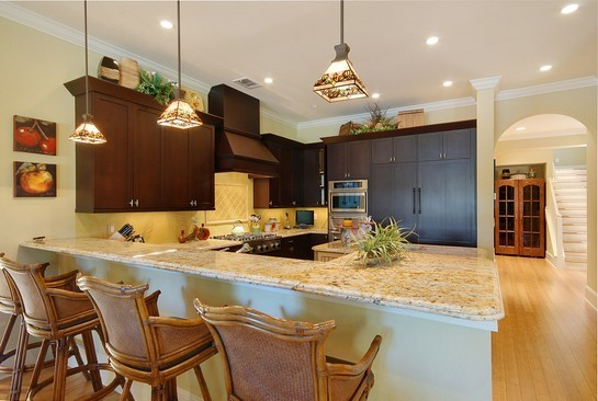 Real Estate Photography - 605 Bougainvillea Rd, Naples, FL, 34102 - Kitchen